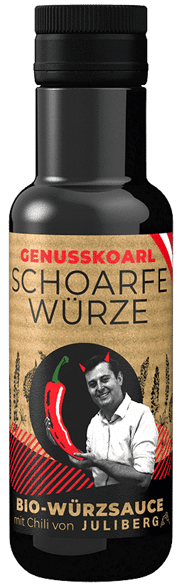 Schoarfe Würze Bio