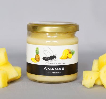 Ananas im Honig