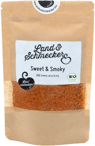 Bio Sweet & Smoky Gewürzmischung Nachfüllbeutel