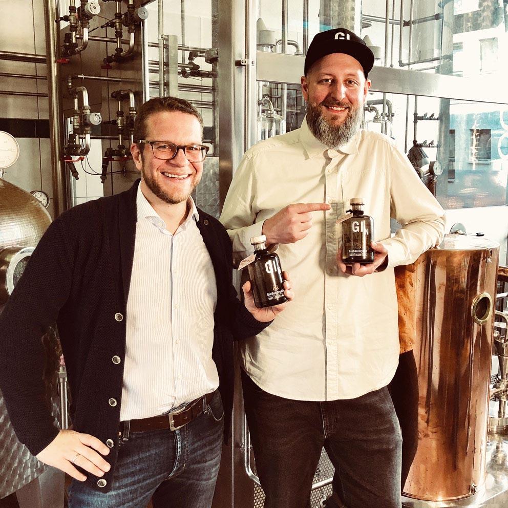 Yan-Tobias Ramb und Michael Karber von Gießen Spirits