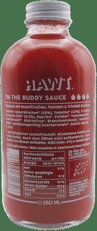 Ruddy Sauce Bio Chilisauce