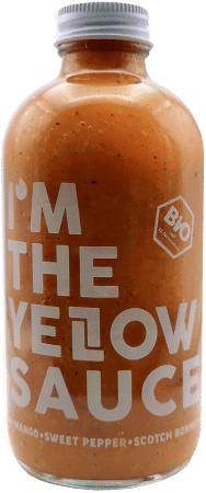 Yellow Sauce Bio Chilisauce