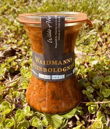 Waidmanns Weinbolognese 300g von WildeAhr