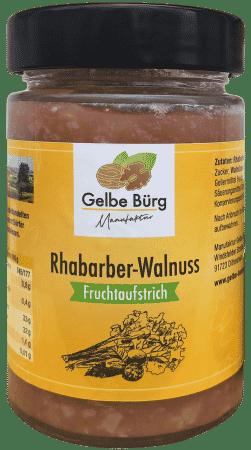 Fruchtaufstrich Rhabarber-Walnuss