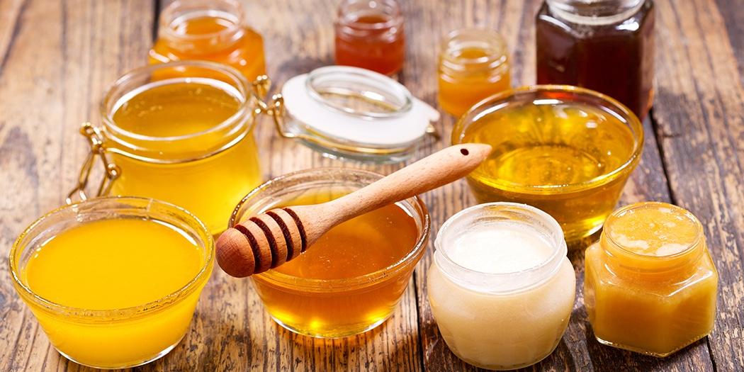 Honigsorten können stark in Farbe und Konsistenz variieren