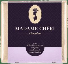 Vollmilch-Schokolade mit Maulbeeren & Mandeln