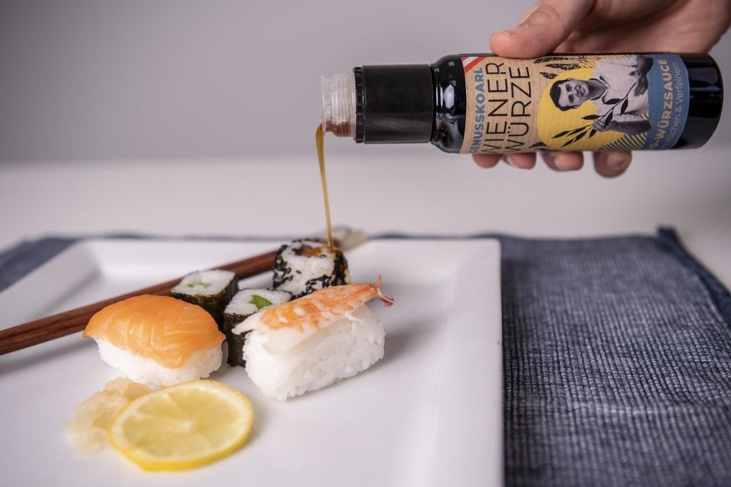 WienerWürze von Genusskoarl mit Sushi