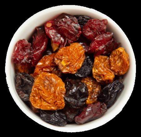 Fruchtmix Cranberries, Weinbeeren & Kapstachelbeeren