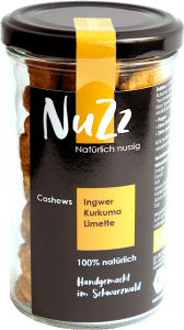 Bio Cashewkerne Ingwer-Kurkuma-Limette