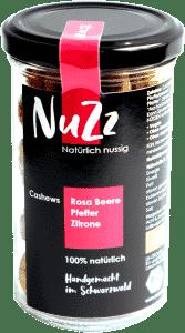 Bio Cashews Rosa Beere - Schwarzer Pfeffer - Zitrone