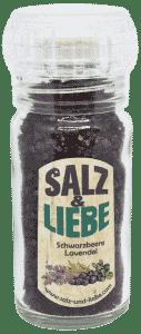 Bio Schwarzbeere-Lavendel Salz