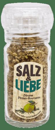 Bio Zitrone-Pinienrosmarin Salz