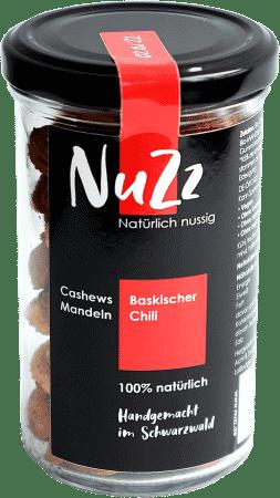 Cashews & Mandeln Baskischer Chili