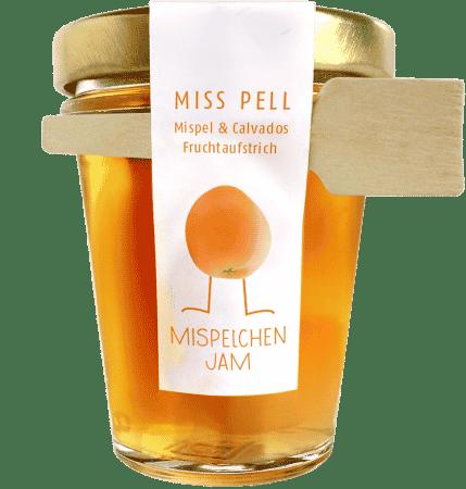 Miss Pell Mispelchen Jam - Mispel & Calvados Fruchtaufstrich