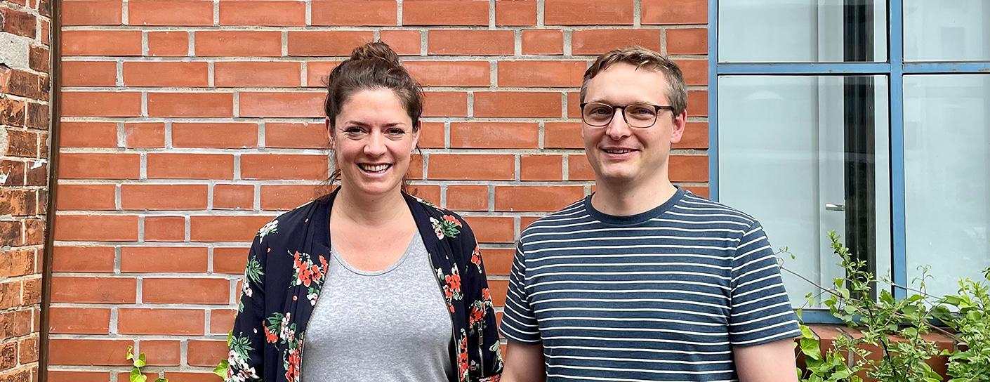 Julia Janocha und Philipp Kukemüller von FROMBee