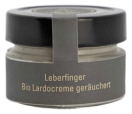 Geräucherte Bio Lardocreme