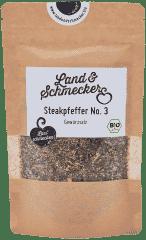 Bio Steakpfeffer No. 3 – Gewürzsalz Nachfüllbeutel