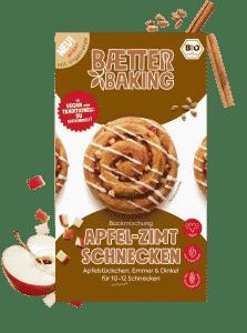 Bio Backmischung Apfel-Zimtschnecken