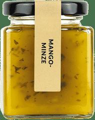 Mango-Minze Fruchtaufstrich