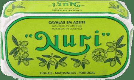 NURI Makrelen (klein) in Olivenöl